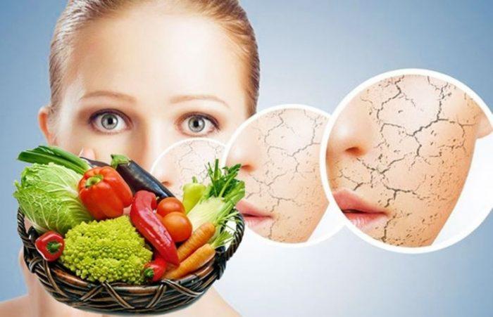 Диета и правильное питание при сухой коже
