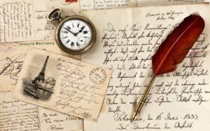 письмо на бумаге