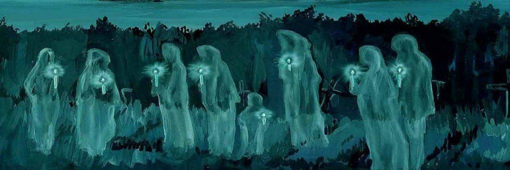 Души умерших