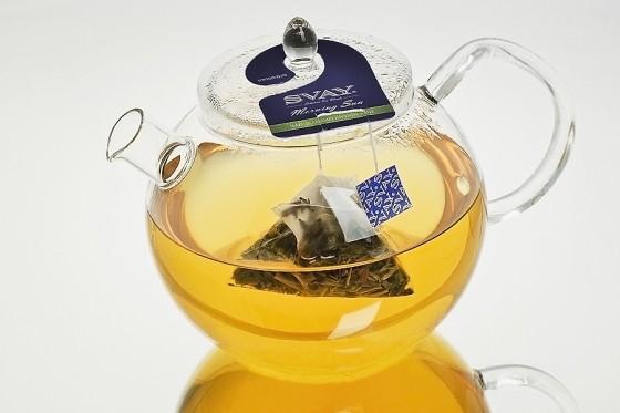 заваривание зеленого чая в пакетиках