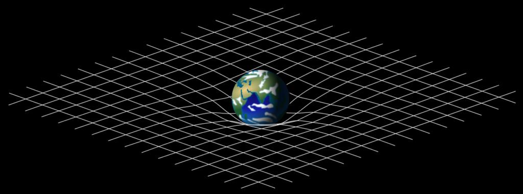 Искривление пространства времени