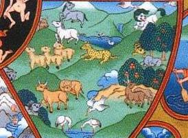 Колесо Сансары - мир животных